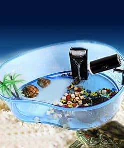 aquarium pour tortue d eau en plastique transparent