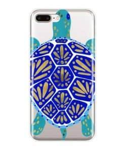coque iphone tortue polynesienne vue de haut