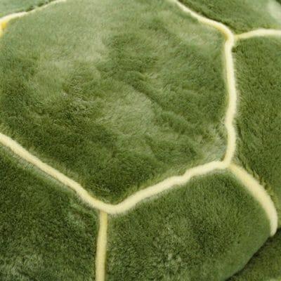 caparace de peluche tortue verte