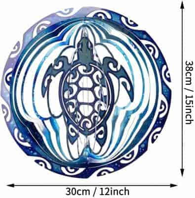 Dimensions du Symbole Tortue Maorie
