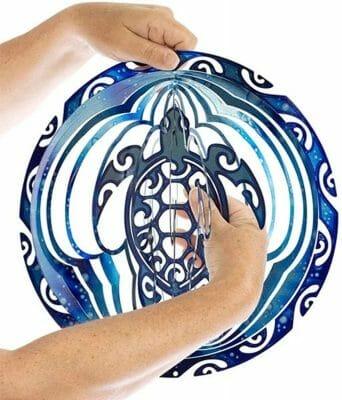 Symbole Tortue Maorie aux 4 Vents dimensions