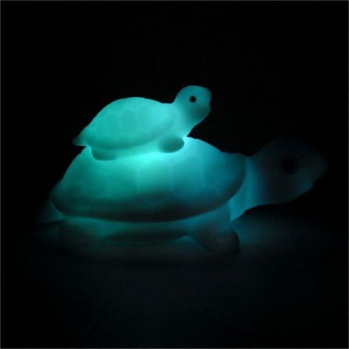 veilleuse tortue indigo