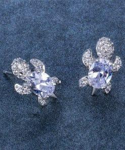 petite boucles d'oreilles tortue pour femme ou jeune femme