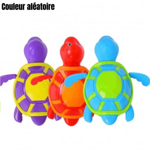 jouet tortue à carapace plate, jouet en plastique pour le bain