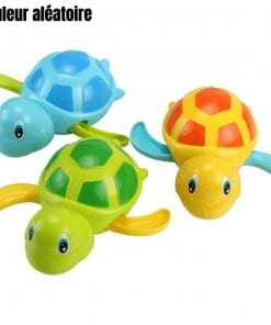 3 jouets tortues en plastique