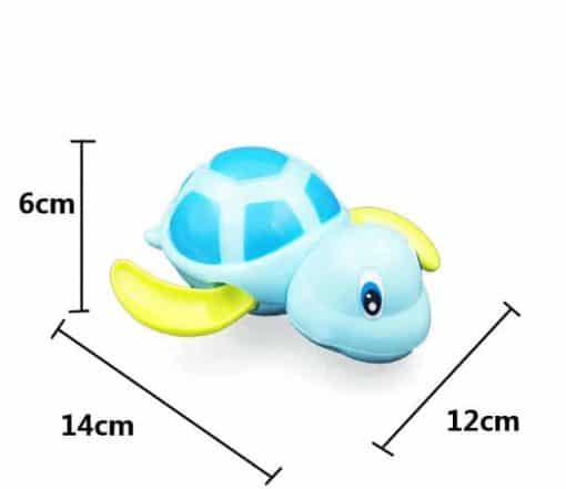 dimension du jouet tortue