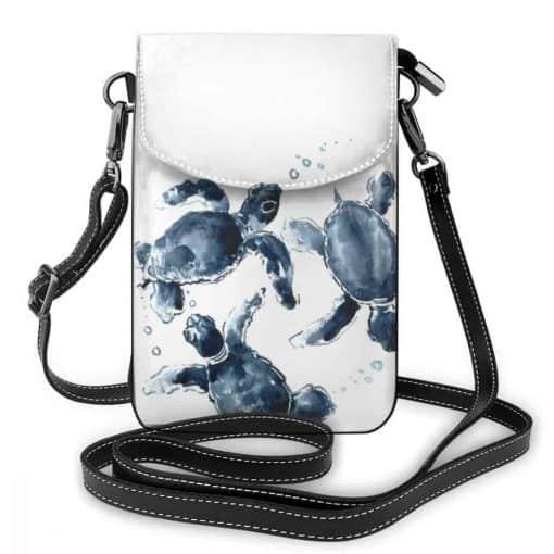 sac tortue en bandoulière - des tortues en bande