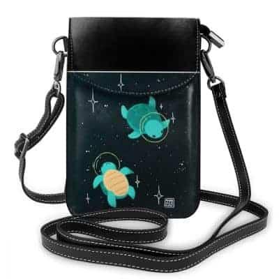sac en bandoulière tortue de l'espace astronaute