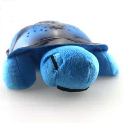 veilleuse tortue bleue rêveuse étoilé