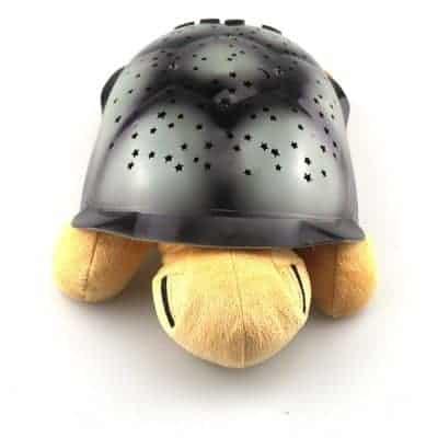 veilleuse tortue jaune rêve étoilé
