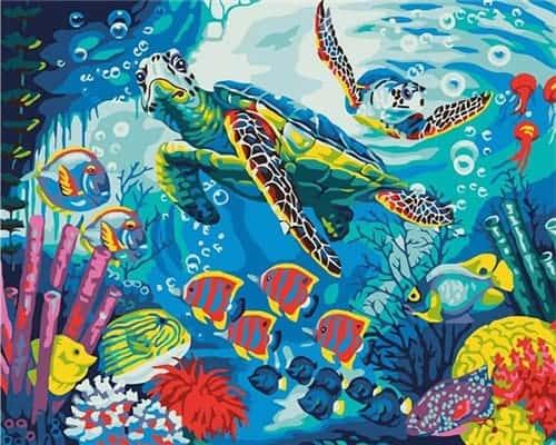 Dessiner les fonds marins