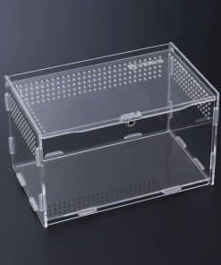 cage pour tortue de terre transparente