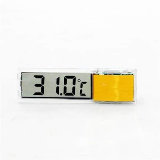 Affichage température or
