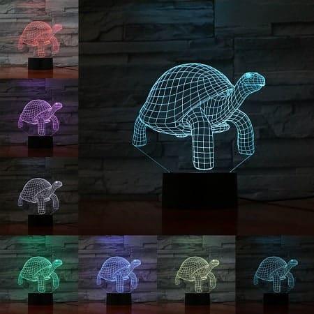 Veilleuse 3D aux 7 couleurs