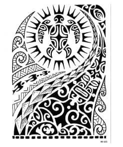 tatouage tortue tribal