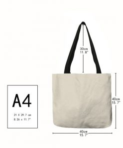 taille A4 sac