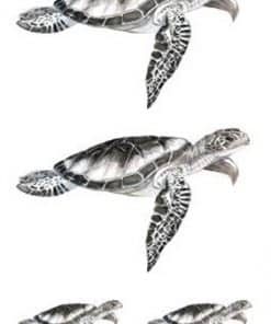 tatouage tortue de mer éphémère