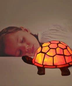 veilleuse tortue pour chambre d'enfant