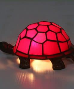 tortue lumineuse rouge