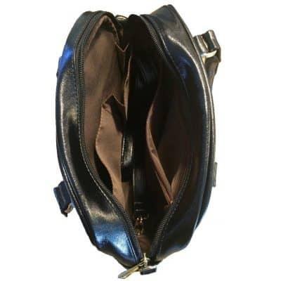 interieur sac à main tortue cuir